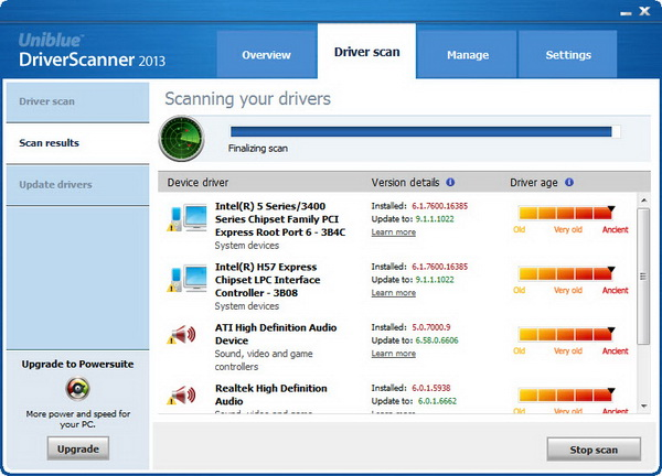 uniblue driver scanner review