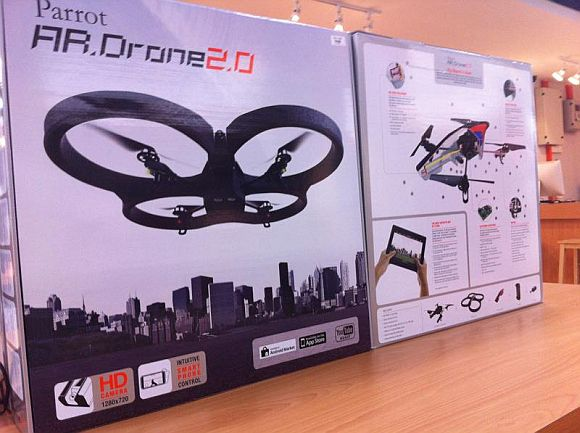 Parrot AR.Drone 2.0 Available in Malaysia