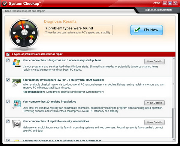 Scan Your Windows For Issues With Iolo System Checkup