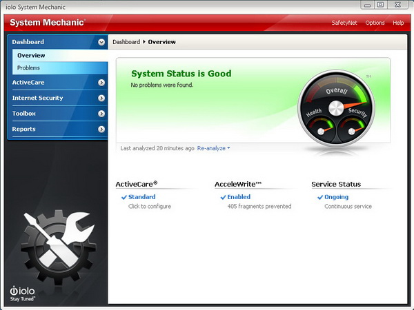 System Mechanic 11 with AcceleWrite