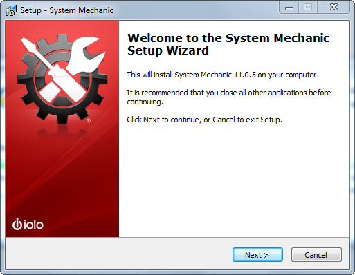 System Mechanic Free 11 - Installation