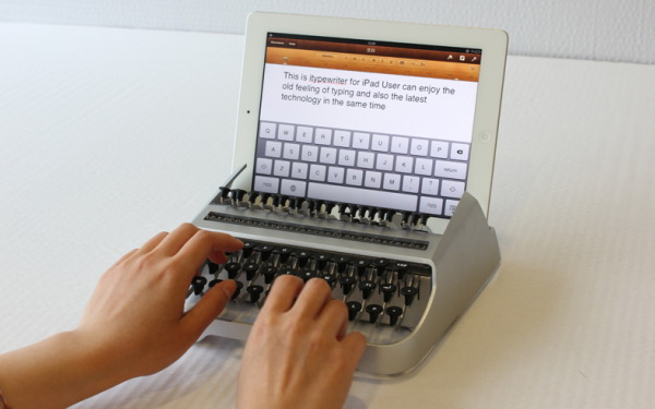 iTypeWriter - Retro Keyboard for iPad