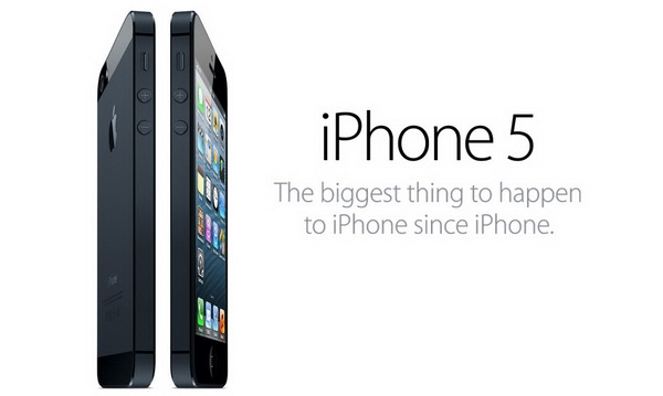 Apple iPhone 5 Officially Announced