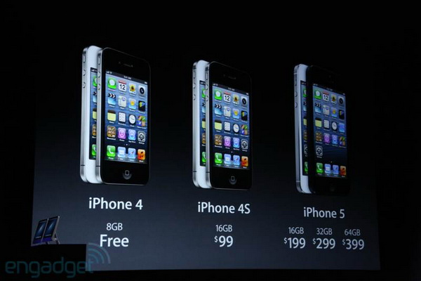 Apple iPhone 5 - Pricing