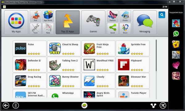 BlueStacks App Player - Run Android Apps on Windows