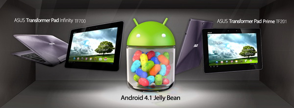 Jelly Bean Update for ASUS Transformer Pads