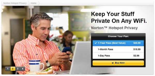 Norton Hotspot Privacy
