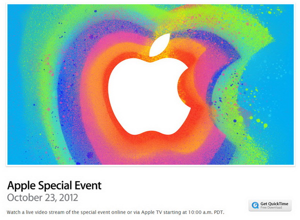 iPad Mini Event - Live Stream on Apple TV or Safari