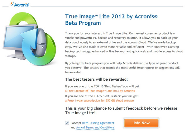 Acronis True Image Home 2013 Serial Number