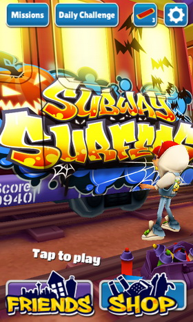Subway Surfers for Android Updated to Support Additional Devices