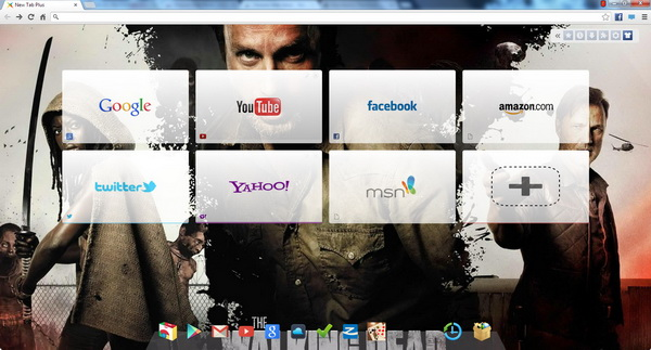 X New Tab Page for Chr...