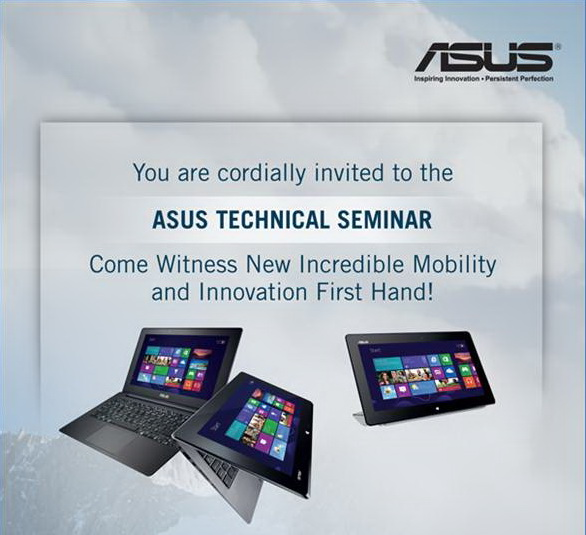 ASUS TAICHI 21 Launch Event