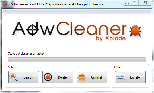 AdwCleaner - Remove Unwanted Toolbars