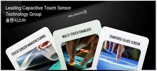 Sollensys and Capacitive Touch Sensor Technology