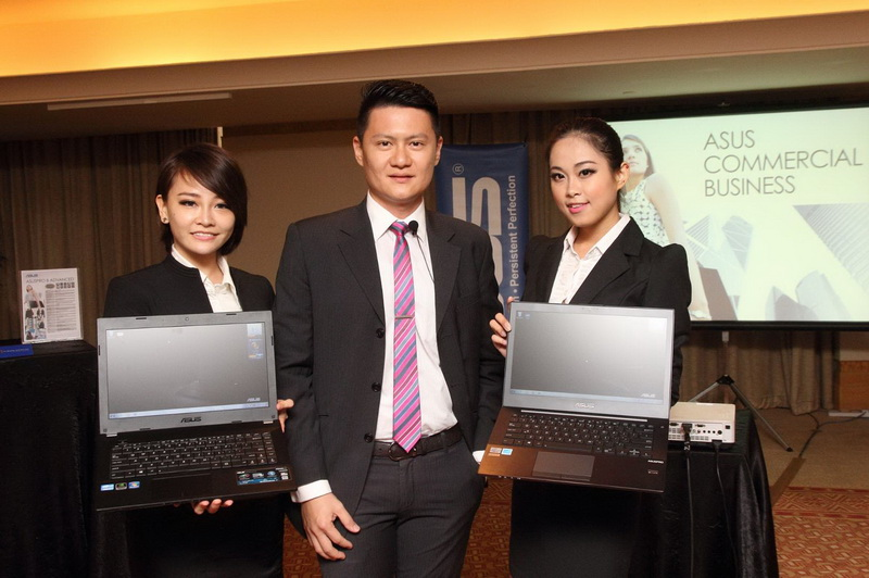 ASUS Malaysia announced ASUSPRO series business notebooks