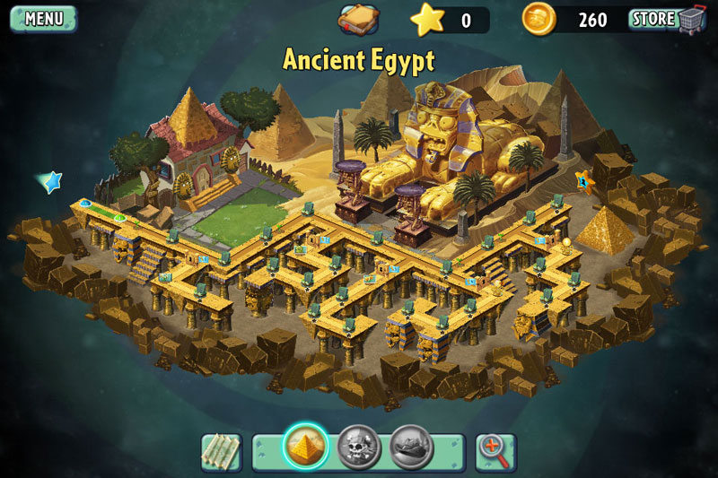 Plants vs Zombies 2 - Ancient Egypt