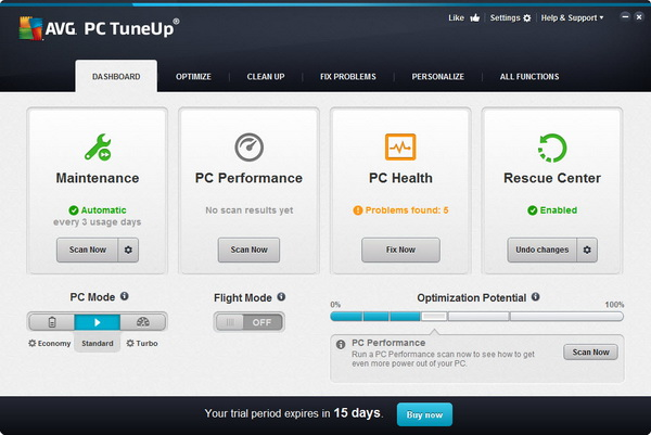 of its all-in-one PC optimization software – the PC Tuneup 2014 ...
