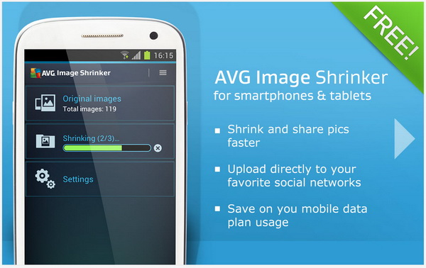 AVG Image Shrinker for Android
