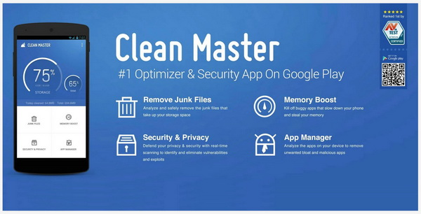Clean Master 5.0 for Android