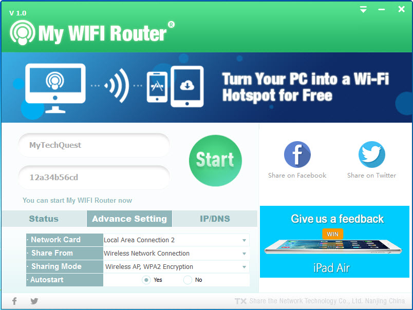 How to turn your Windows XP, 7 or 8 PC/Laptop into a Wi-Fi ...