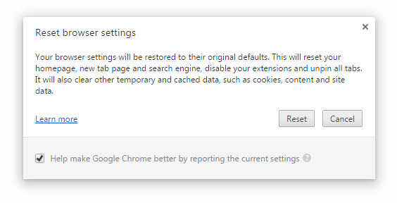 Chrome Software Removal Tool Beta 03