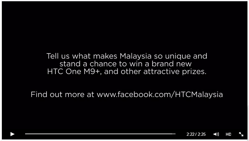 HTC Malaysia Day Contest