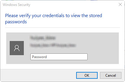 How to View Saved Passwords in Edge browser