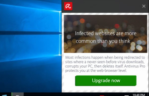 Block Avira Pop Up Ads