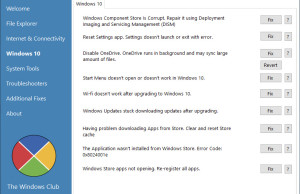 Fix and Repair Windows 10 Issues