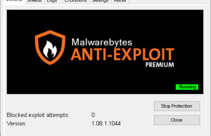 Malwarebytes Anti-Exploit for Windows 10