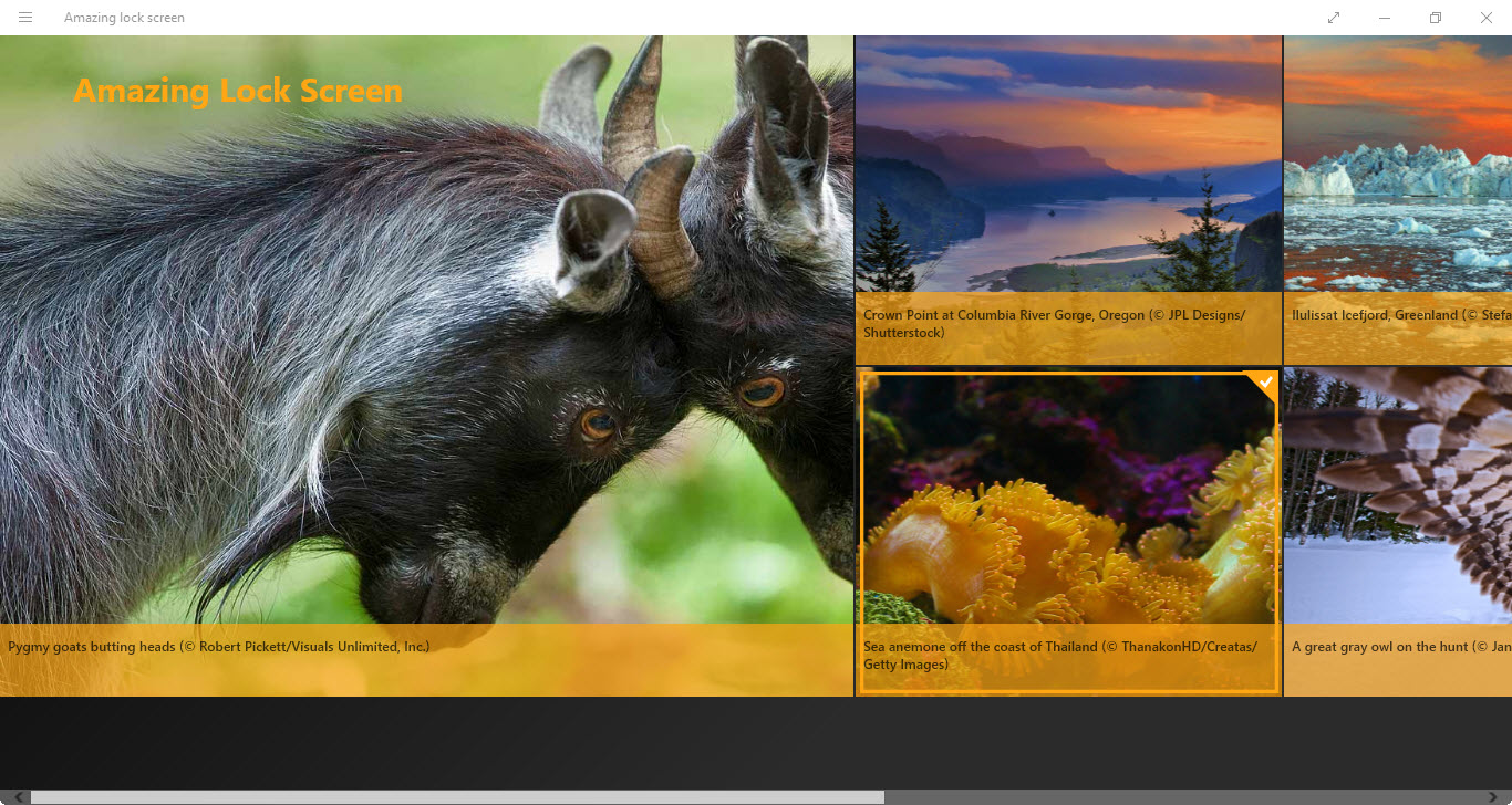 Set Bing Daily Image as Windows 10 Lock Screen