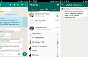 Whatsapp - Starred Messages