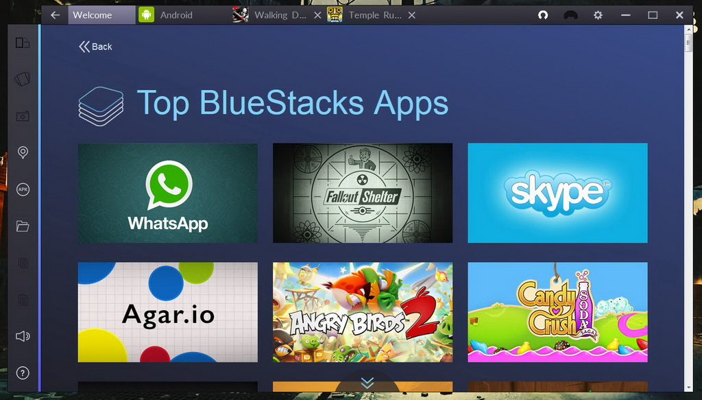 Bluestacks 2 Android Emulator for Windows
