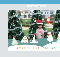 Create and Send Personalized Christmas Cards with Fotojet