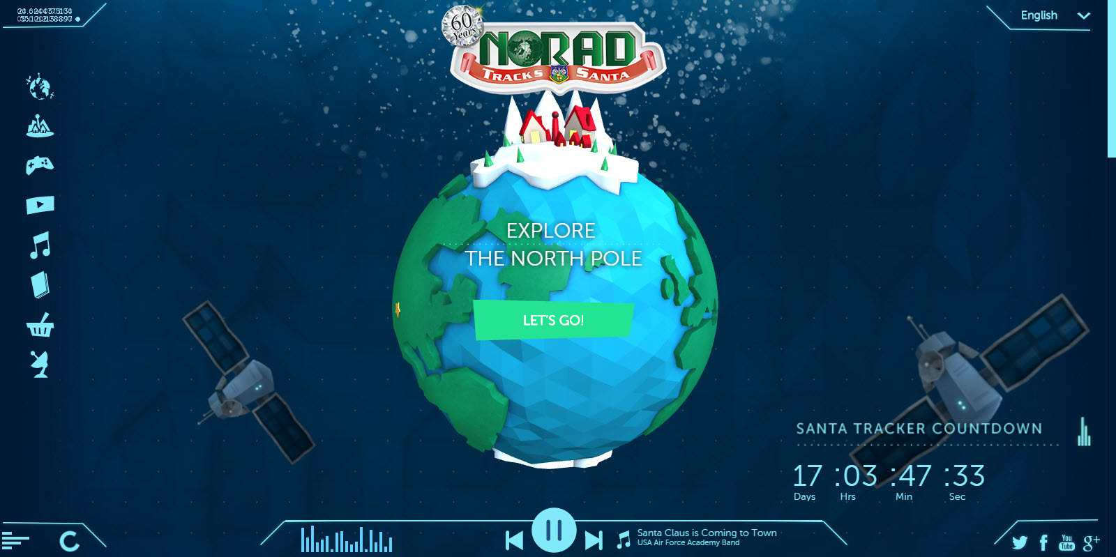 NORAD marks 60 years of tracking Santa, is ready for Christmas 2015