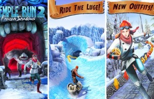 Temple Run 2 : Frozen Shadows foi iOS and Amdroid