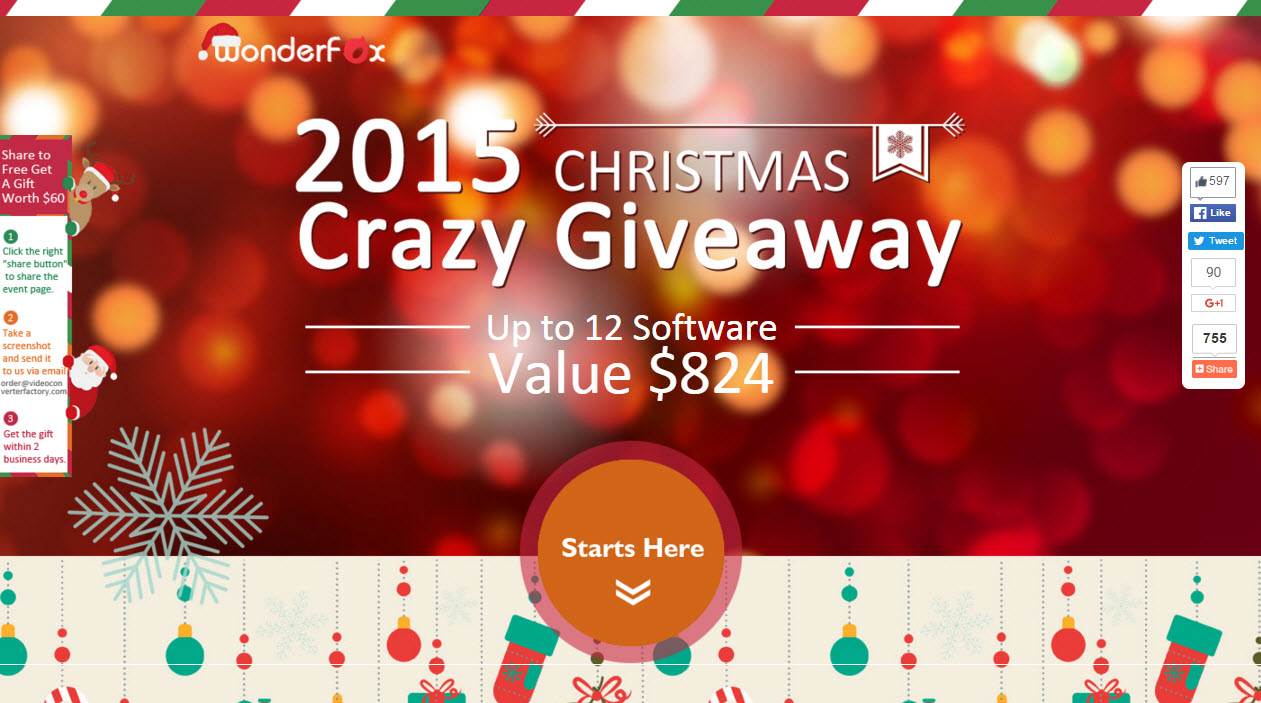 Wonderfox 2015 Free Software License Giveaway