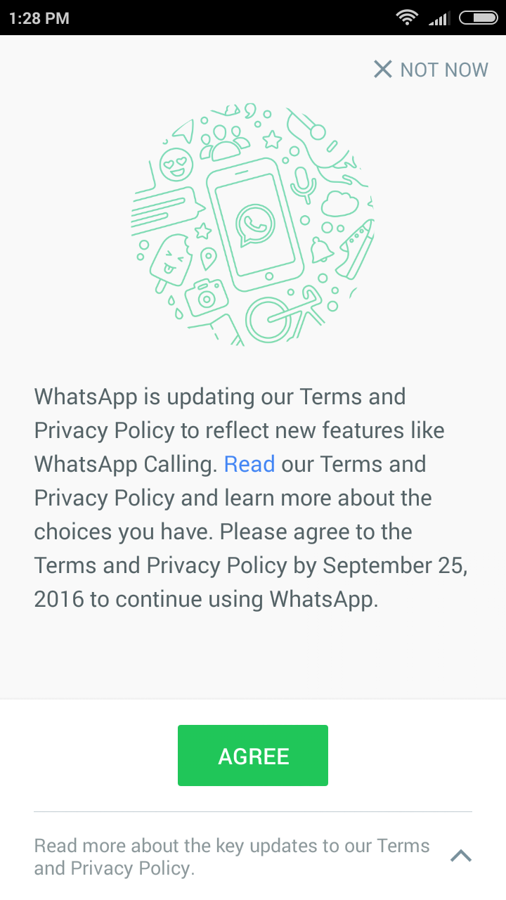 How to stop sharing Whatsapp Data with Facebook