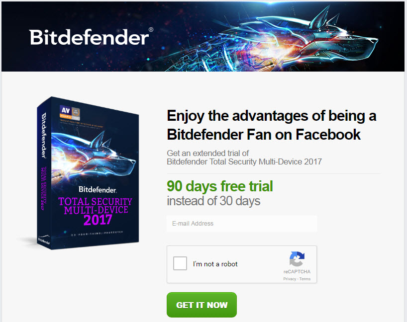 Bitdefender Total Security Multi-Device 2017 with Free License