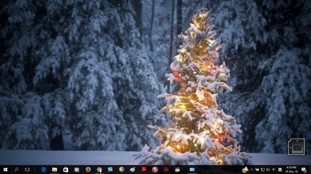 Windows 10 Christmas Theme - Christmas Theme