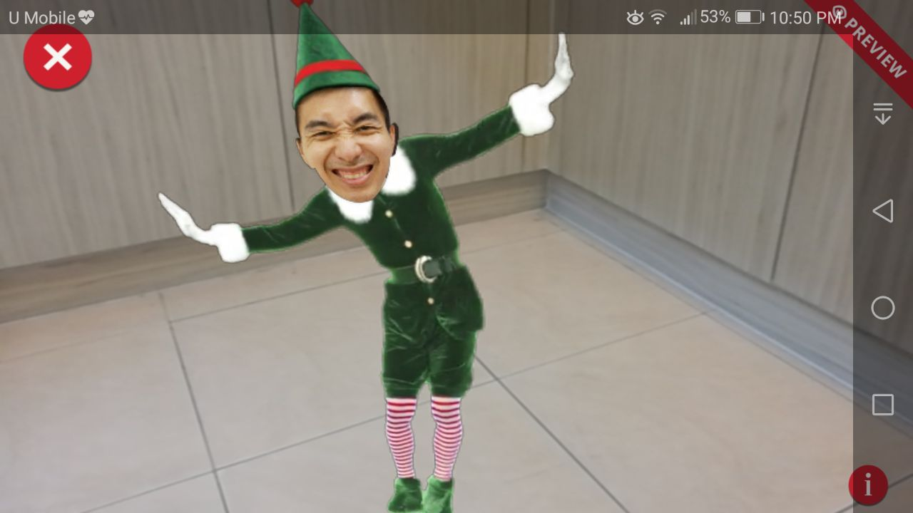 Elf Yourself Android App - AR Elf Dancing Video Dance
