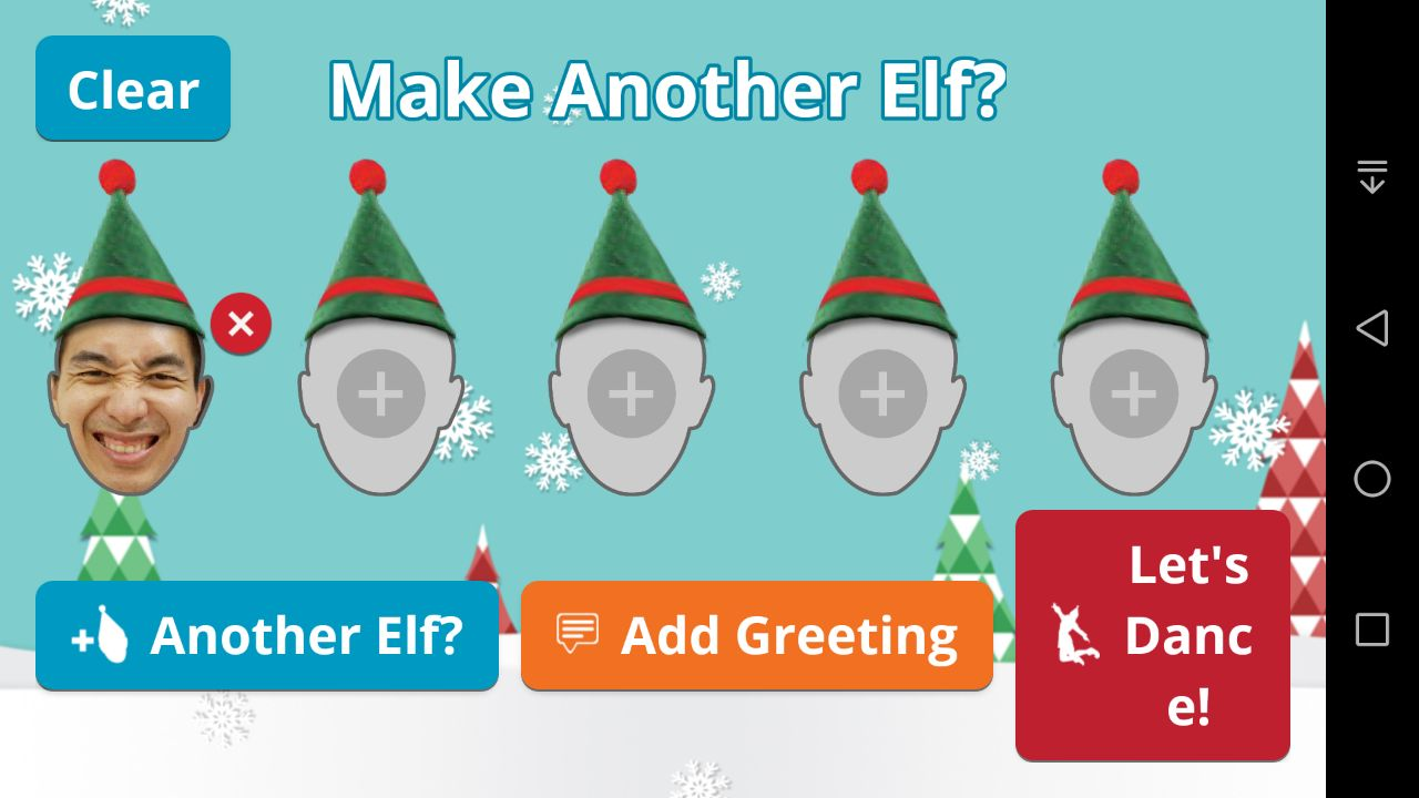 Elf Yourself Android App - Make Another Elf