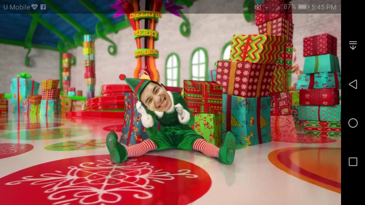 Elf Yourself Android App - Preview Elf Dancing Video