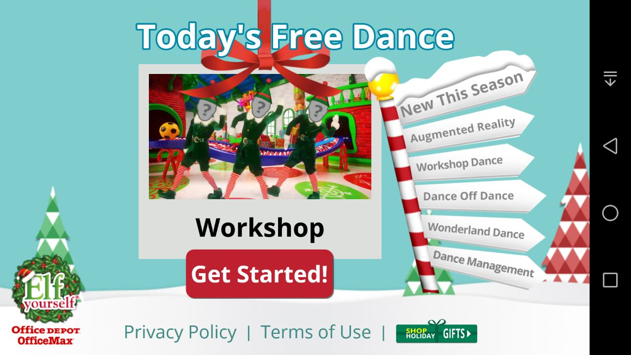 elf yourself game free download