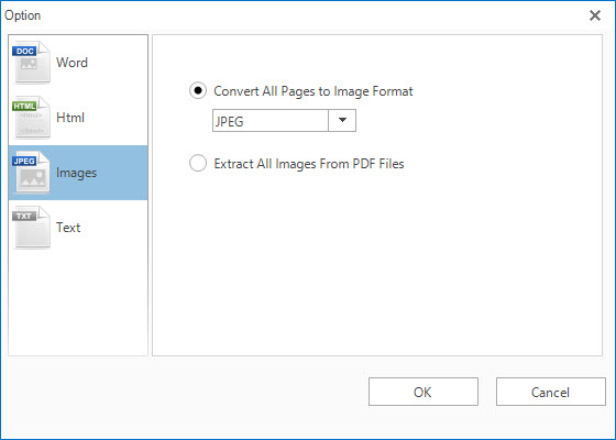 All PDF Converter Pro Review - Settings