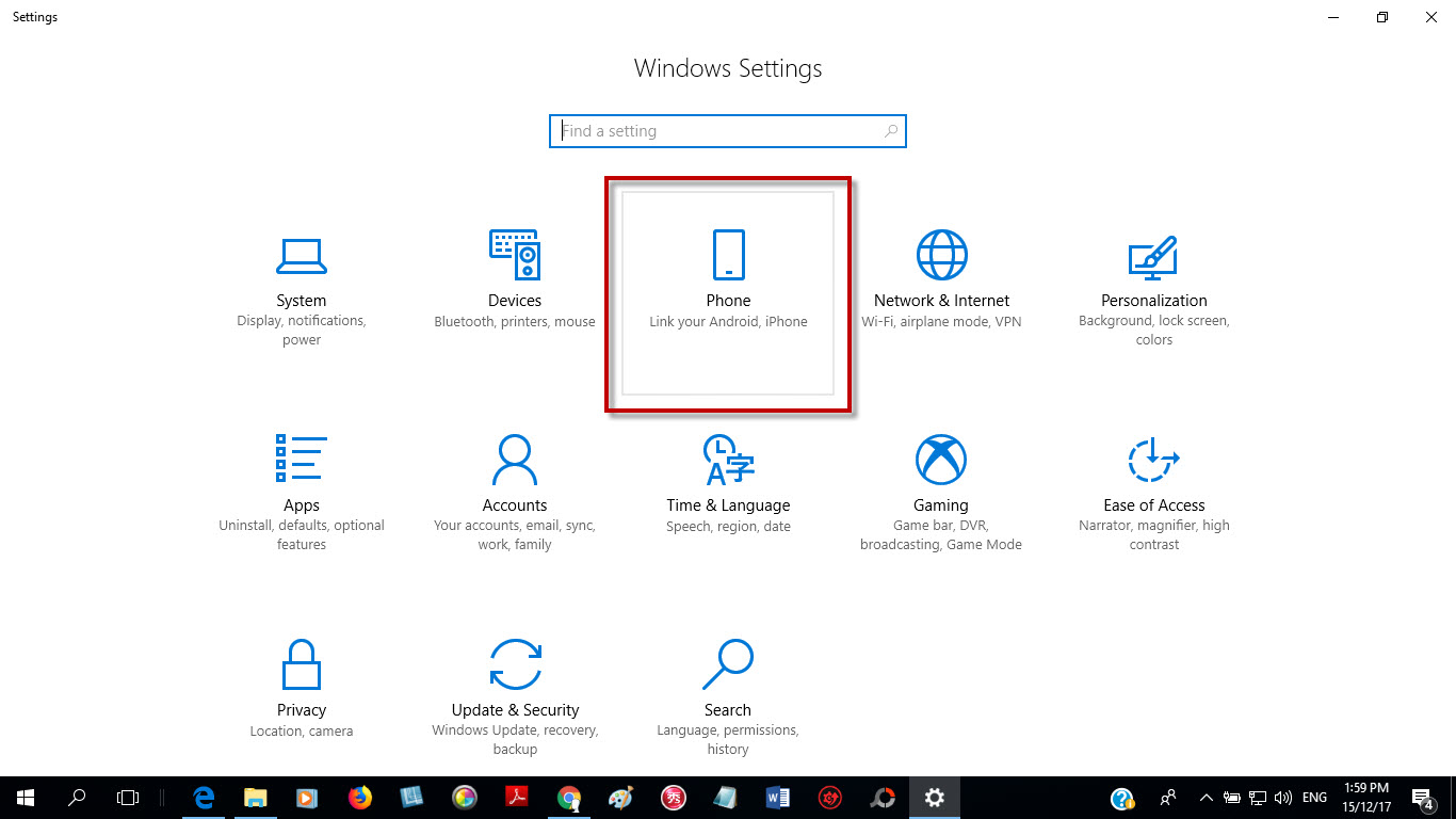 How to Connect Android phone or iPhone to Windows 10 PC
