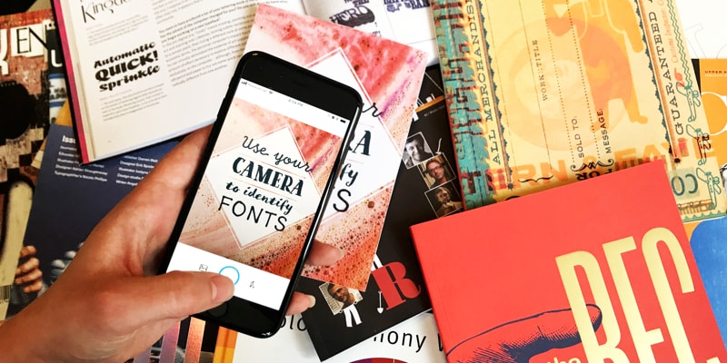Use Camera to Identify Fonts with WhatTheFont Android App