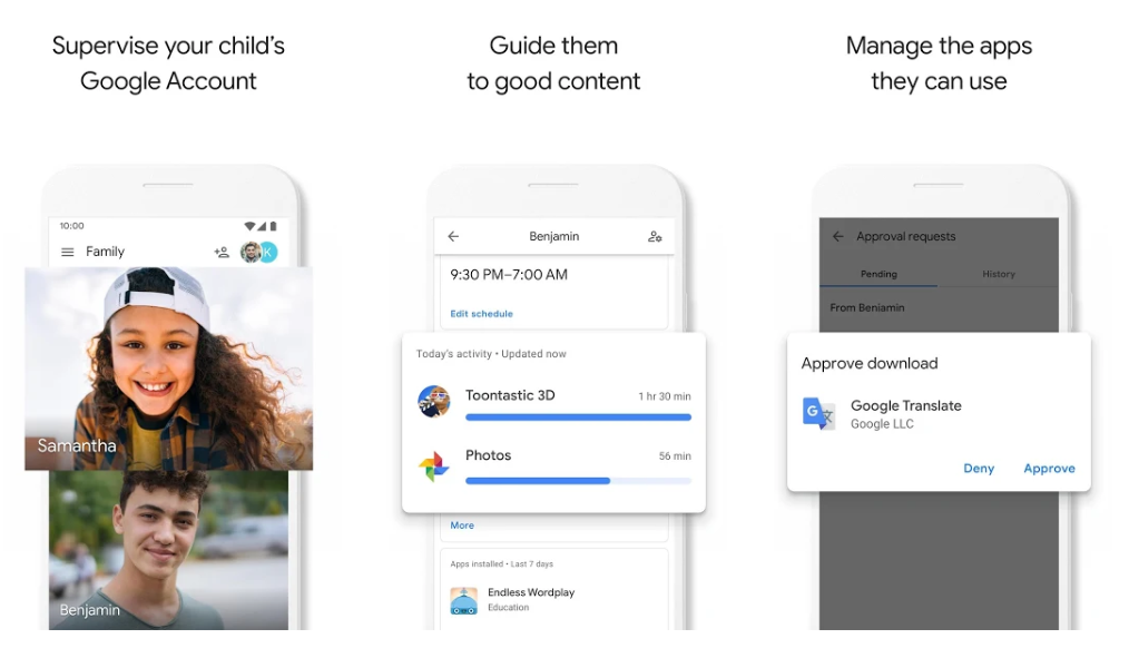 Monitor your kids' mobile usage with Google Family Link